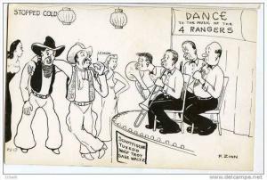 RP: Comic: Cowboys at Formal dance - Stopped Cold - sucks on lemon, 4 Rangers...