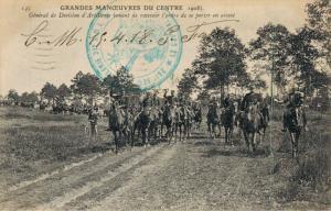Military - Grandes Manoeuvres du centre General de Division 02.84