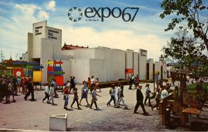 Canada - Quebec, Montreal. Expo 67. Sermons from Science Pavilion
