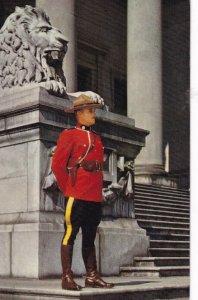 VANCOUVER, British Columbia, 1950-1960s; The Mountie