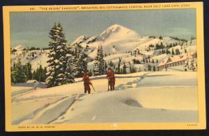 Postcard Unused 961-Brighton Big Cottonwood Canyon Salt Lake City UT LB