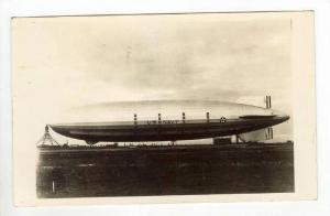 1st Anniversity of crash of Blimp USS AKRON, PU-1934 Blimp on ground