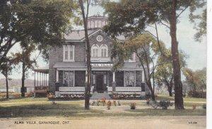 GANANOQUE, Ontario, Canada, 1900-1910's; Alma Villa