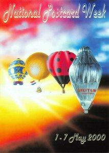 Postcard - National Postcard Week 1-7 May 2000 Art by Mark Pecan