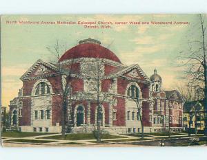 Divided-Back CHURCH SCENE Detroit Michigan MI p5267