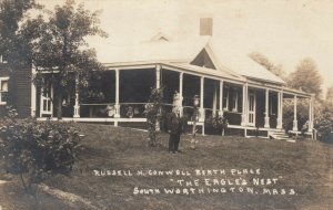 RP: SOUTH WORTHINGTON , Massachusetts, 1910s ; The Eagle's Nest, Russell H. Co