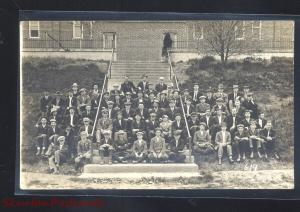 RPPC CONCEPTION COLLEGE MISSOURI RELIGIOUS SCHOOL VINTAGE REAL PHOTO POSTCARD