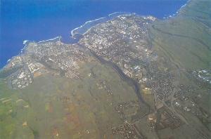 Ile de La Reunion Ocean Indien Saint Pierre Aerial view