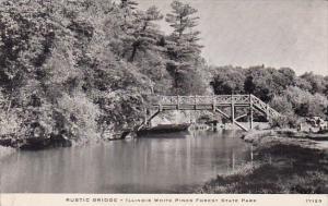 Illinois Oregon Rustic Bridge Illinois White Pines Forest State Park