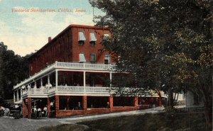 LP02 Colfax Iowa Postcard Victoria Sanitarium