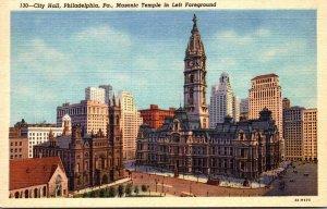 Pennsylvania Philadelphia City Hall Curteich