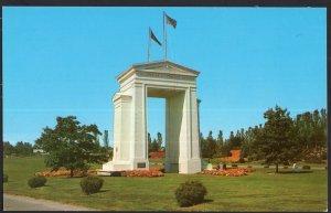 Washington ~ International Peace Arch at BLAINE - Chrome 1950s-1970s