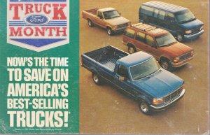 Trucks of the Month Ford Trucks 1991