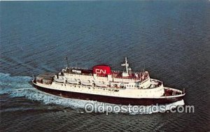 MV William Carson Port aux Basques, Newfoundland Ship Unused