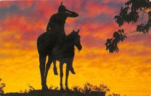 Sunset in Navajo-Land