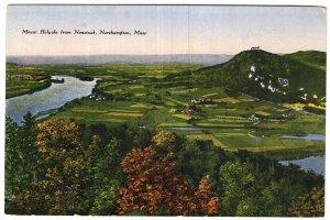 Northampton, Mass, Mount Holyoke from Nonotuck