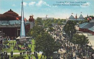 Looking west from Grand Stand, Canadian National Exhibition, Toronto, Canada,...