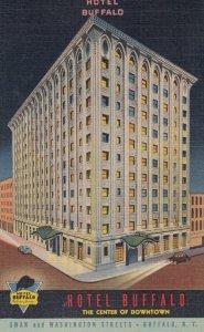 BUFFALO , New York , 1930-40s ; Hotel Buffalo