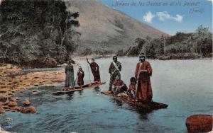 Peru Balsas de los Indios en el rio Perene