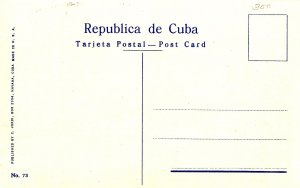 Cuba - Havana. Capitol Building & India Fountain