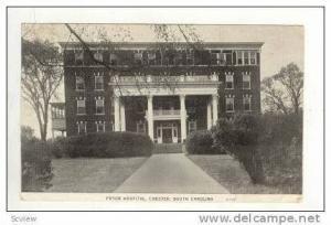 Pryor Hospital, Chester, South Carolina, 1939
