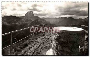 Postcard Old L & # 39Artouste Table d & # 39orientation the peak of the Wise ...