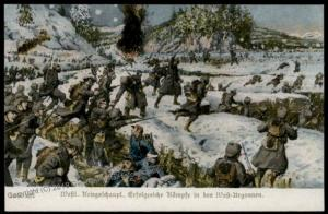 Germany Austria WWI Argonne Forest Battle Western Front Patriotic Gloria V 66324