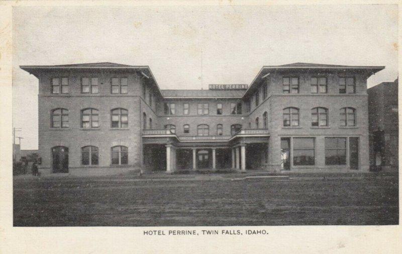 TWIN FALLS , Idaho, 1900-10s ; Hotel Perrine