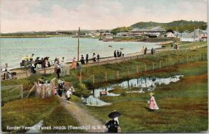 Border Fence Tweed Heads Township NSW Australia Shell Series c1908 Postcard E55