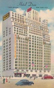 NEW YORK CITY , 1930-40s ; Hotel Dixie