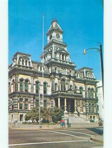 Unused Pre-1980 COURT HOUSE Zanesville Ohio OH n4296@