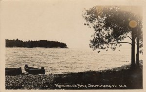 RP: SOUTH HERO , Vermont , 1910-20s; Rockwell's Bay