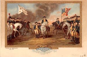 Parade at Yorktown Oct 1781, Surrender of Cornwallis Colonial Unused