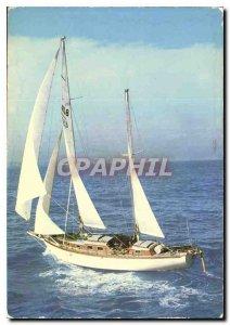 Modern Postcard The French Riviera Pleasure Sailing