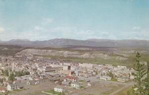 Aerial view,  Whitehorse,  Yukon,  Canada,  PU_1956