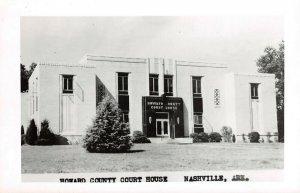LPCH34 Nashville Arkansas Howard County Court House RPPC