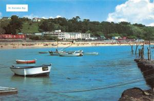 Vintage 1970s Jersey Postcard St Brelades Bay, Channel Islands 57B