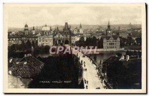 Postcard Old Prahai Karluv