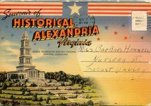 Folder -   Virginia,  Historical Alexandria  18 views + narrative