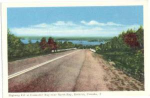 Highway #11 at Callander Bay near North Bay, Ontario, ON, Canada, PECO W/B