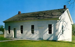 IA - West Branch. Quaker Church Attended By Herbert Hoover As A Boy