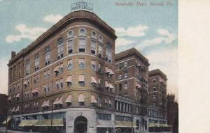 Monticello Hotel, Norfolk, Virginia, 1900-1910s