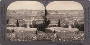 SV: 1910s ; Panorama , JERUSALEM , Palestine