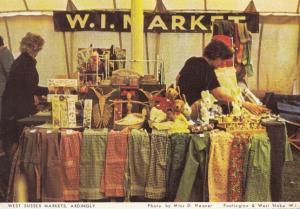 Ardingly Markets Sussex Postcard