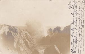 RP: Spouting Rock , KENNEBUNKPORT , Maine , 1906