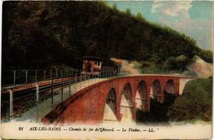 CPA AK AIX-les-BAINS Chemin de fer du Revard Le Viaduc (681686)