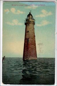 Minot's Ledge Lighthouse, Boston MA