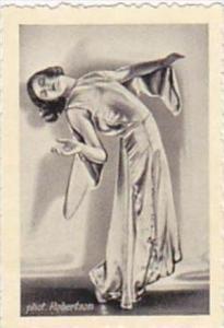 GARBATI CIGARETTE CARD FAMOUS DANCERS NO 178 ELLINOR BAHRDT