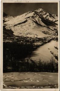 CPA Bardonecchia Panorama Di Borgovecchio ITALY (802092)