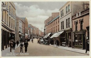 Church Street Scene BALLYMENA Northern Ireland UK c1930s Vintage Postcard